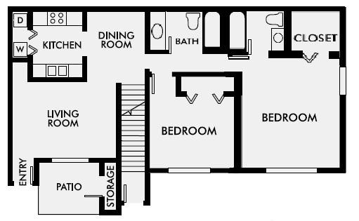 2Bd2BthSS Downstairs